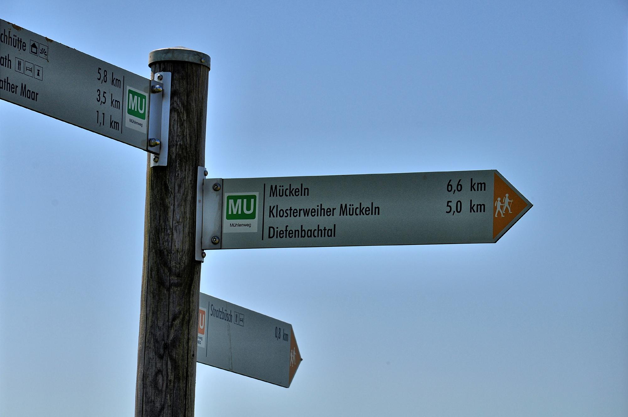 Mühlenweg ins Diefenbachtal